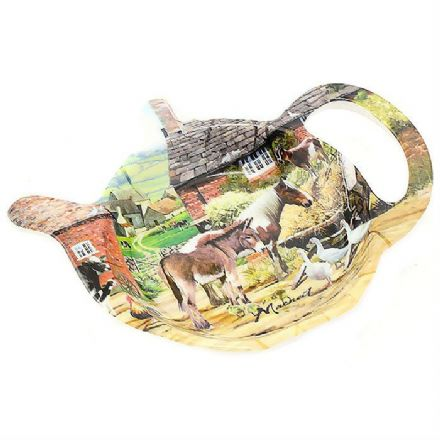 Country Life Tea Bag Holder